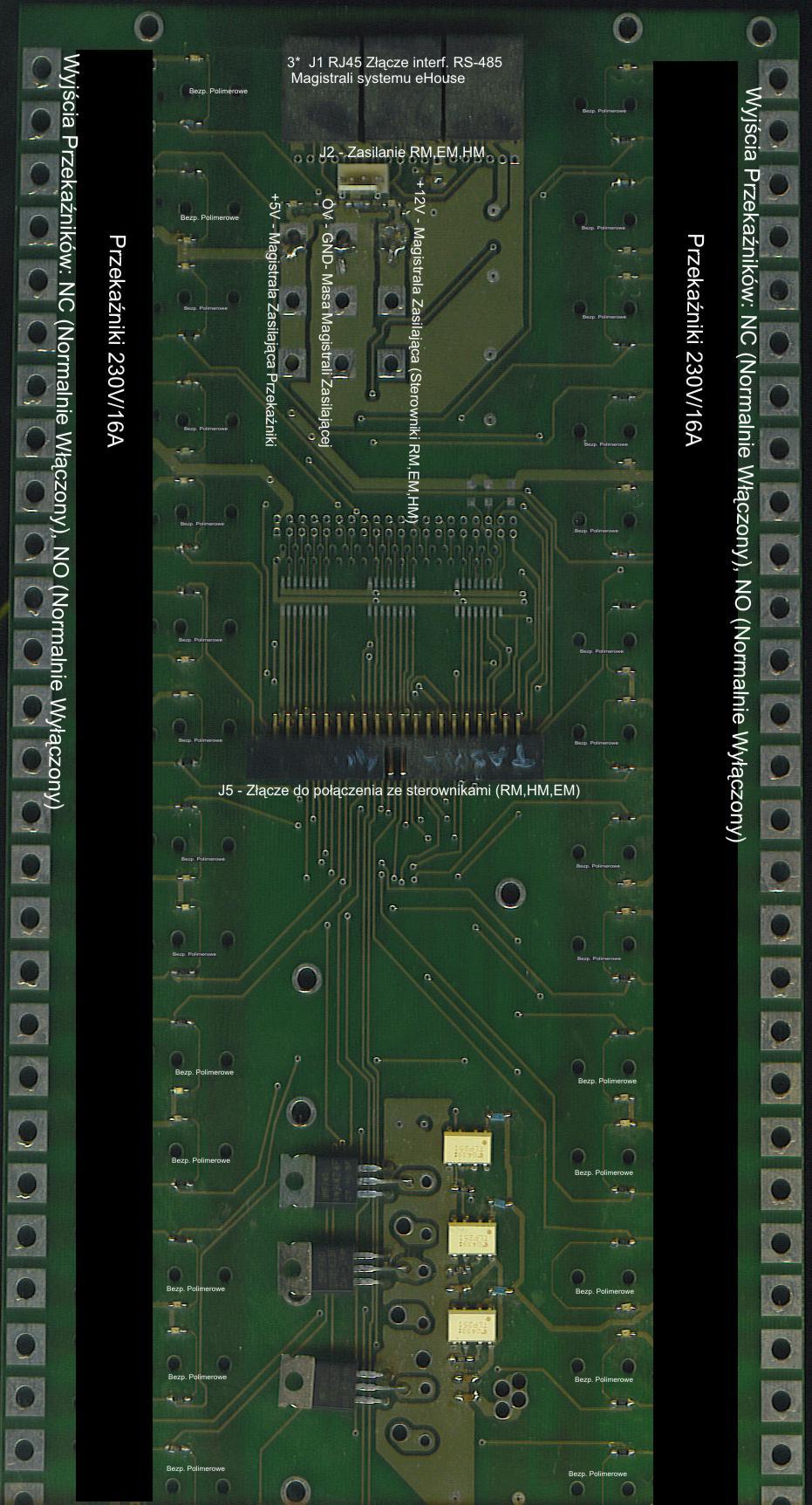 domotique , domotique ehouse - Module de relais pour la commutation d'appareils électriques