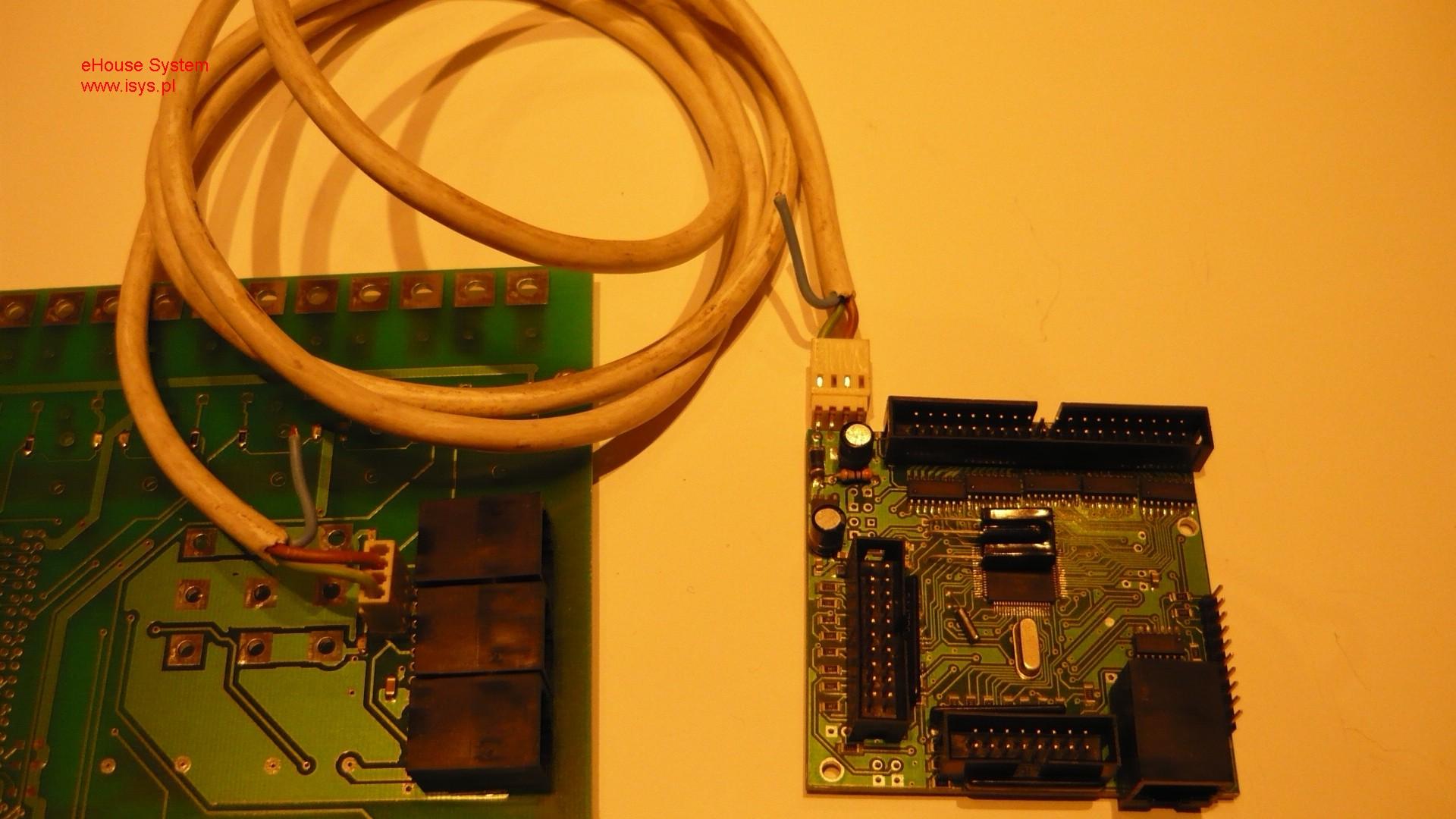 domotique , domotique ehouse - connexion au bus de puissance de la RM , EM , HM (0 , HM (0