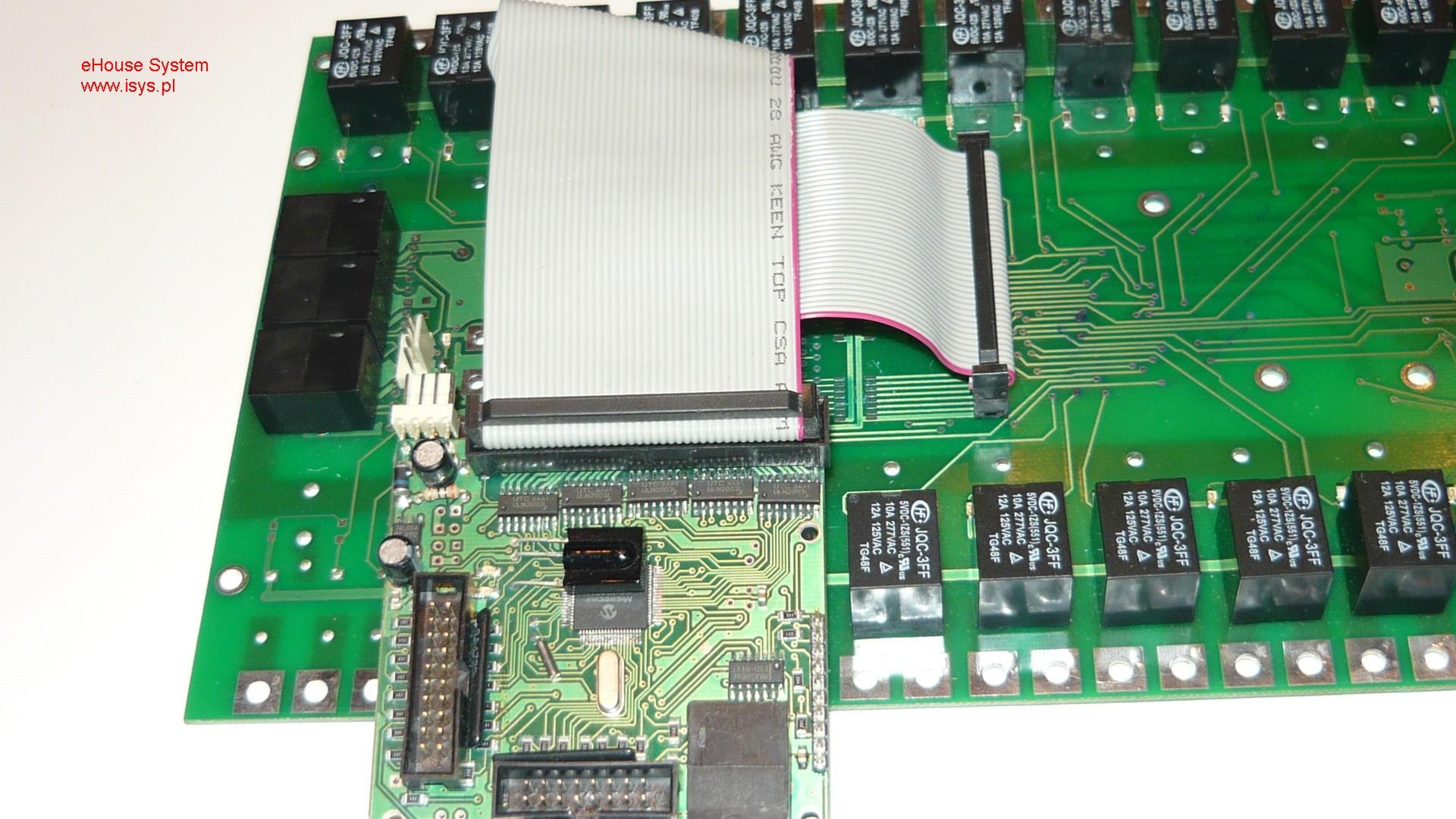 ehouse automatismes du bâtiment - Connexion de relais pour la RM pilote la mise en œuvre , EM , PEUH