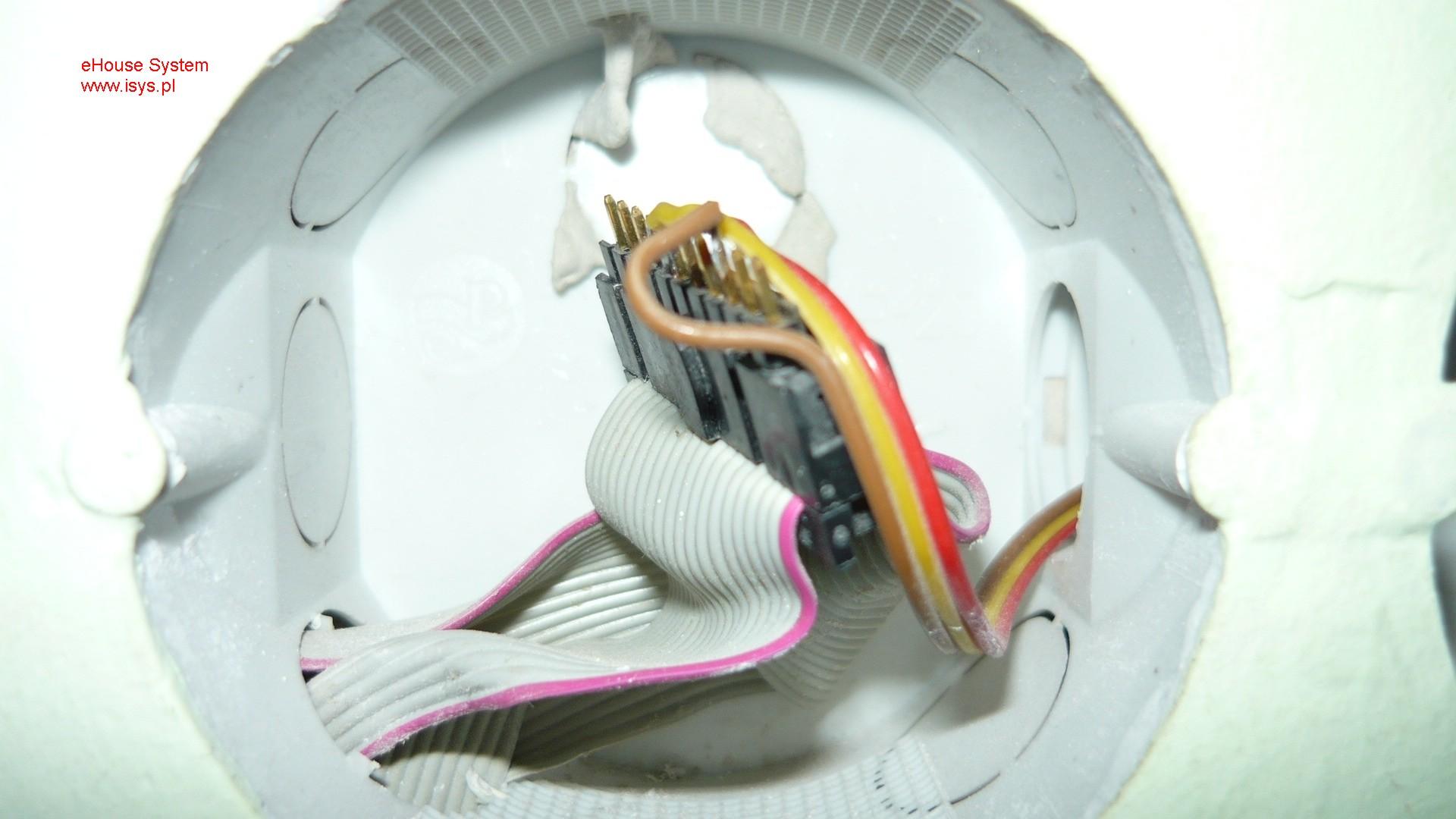 ehouse automatismes du bâtiment - connexion et la séparation des câbles ruban plat aux commutateurs