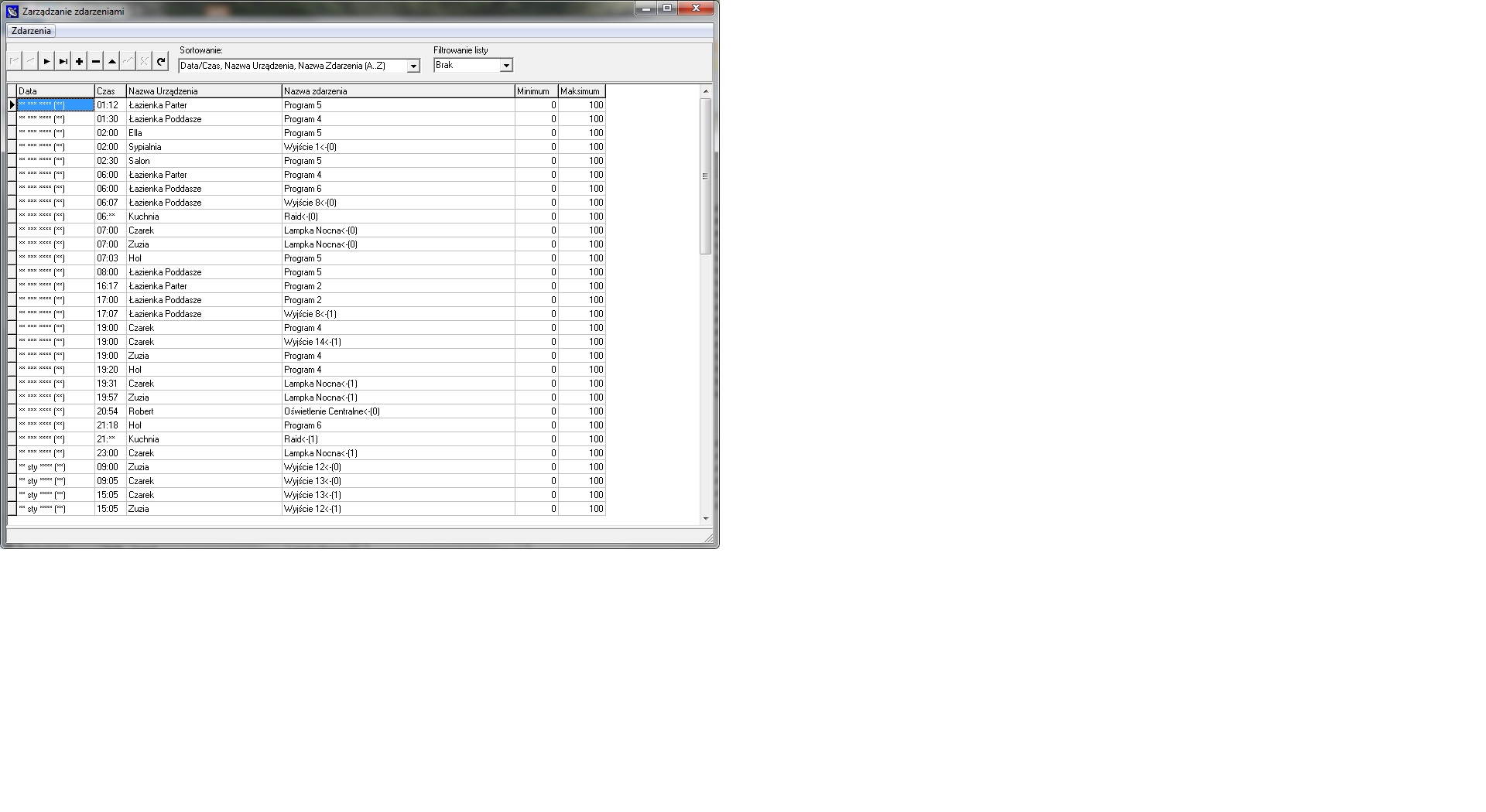 bahay pag-aautomat ehouse - kalendaryo at iskedyul configuration controllers at sistema ng