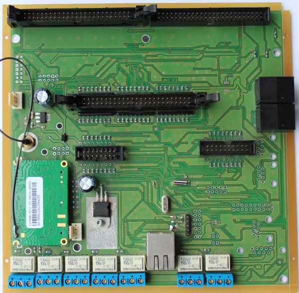 CommManager inteligentny dom Ethernet eHouse - sterownik napędów i zabezpieczeń