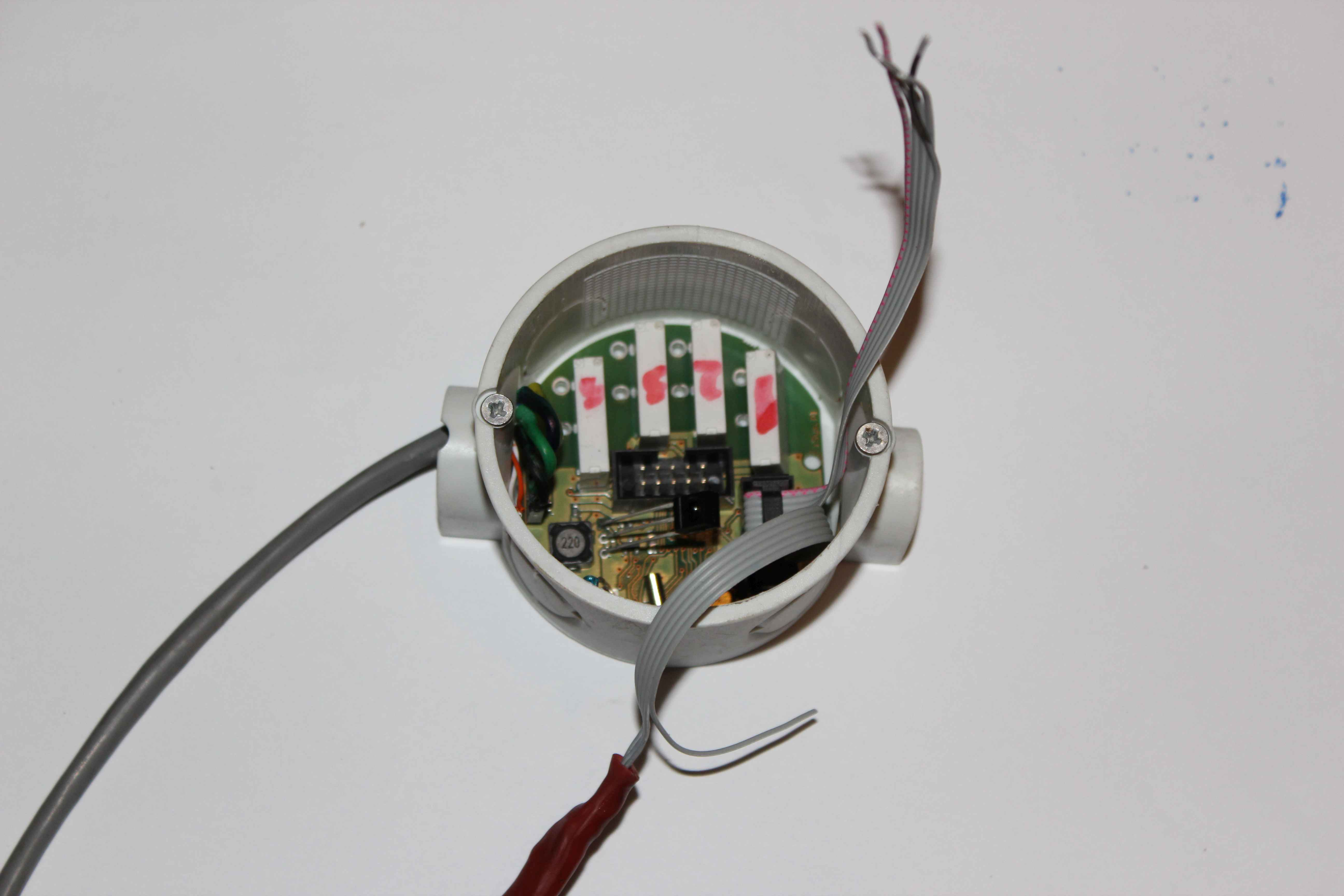 Smart Home eHouse4CAN - Installation in wall socket input modules