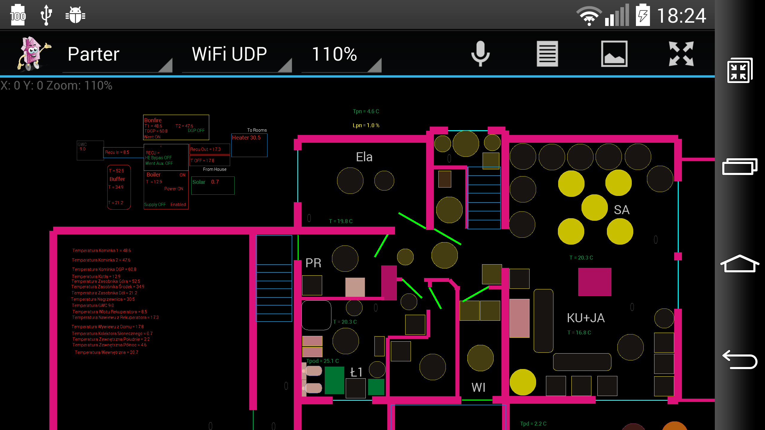 smart house ehouse control android