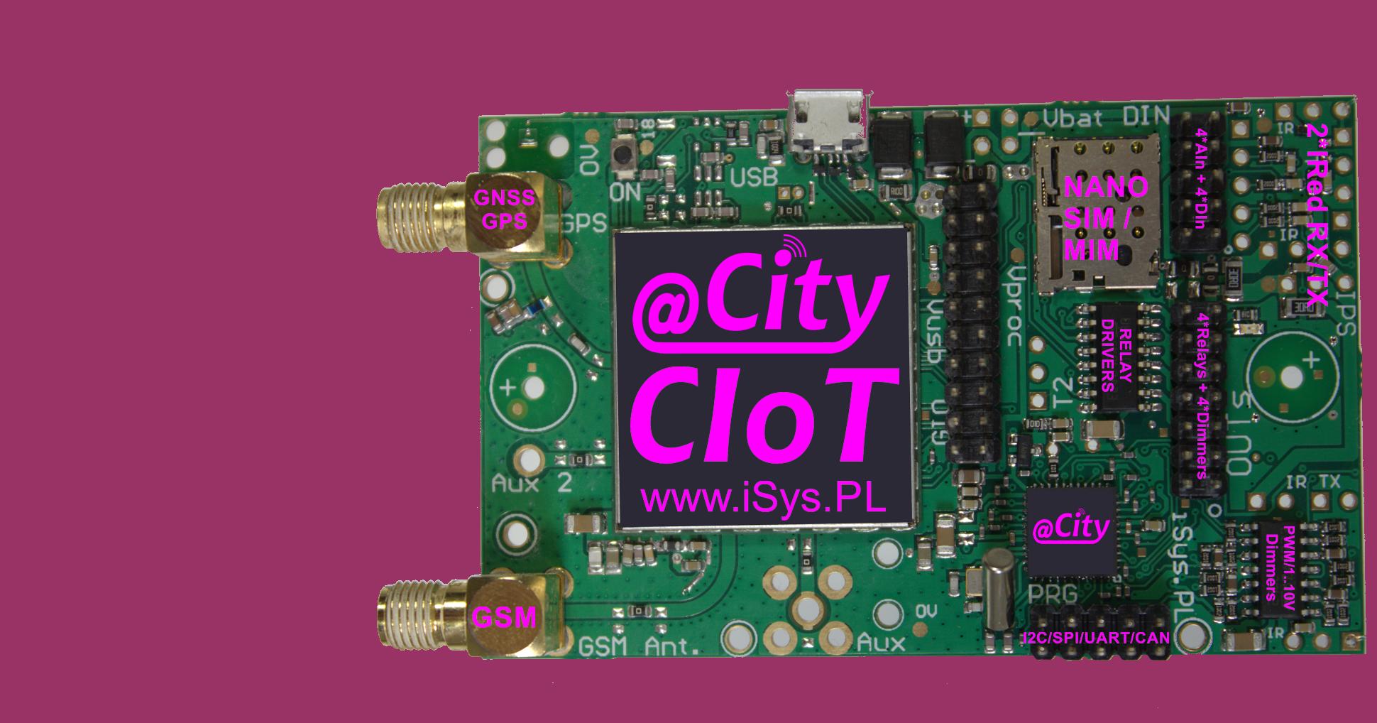 IoT / IIoT, Smart City, Smart Lighting LoRaWAN