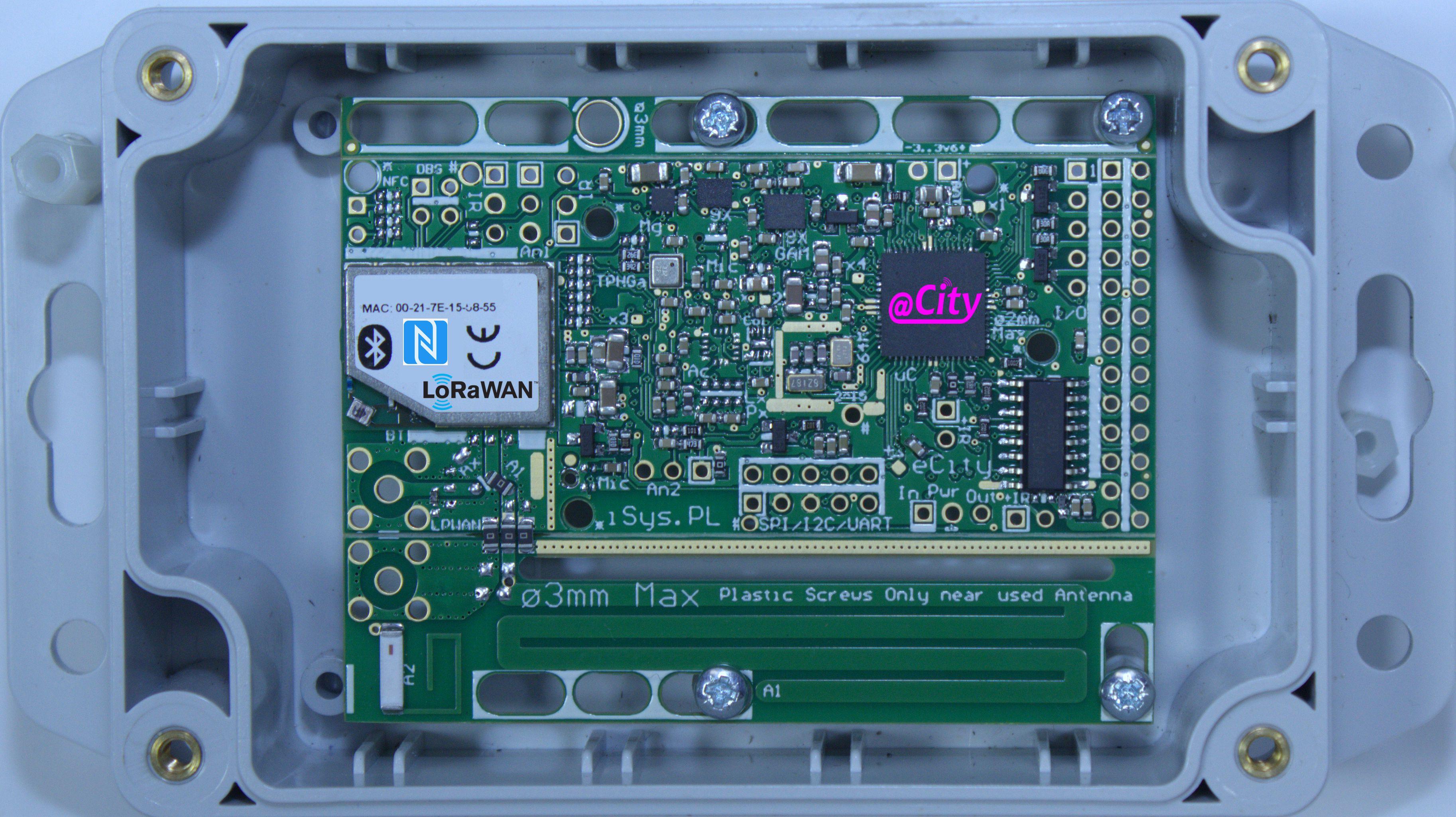 IoT/IIoT, Smart City, Smart Lighting LoRaWAN