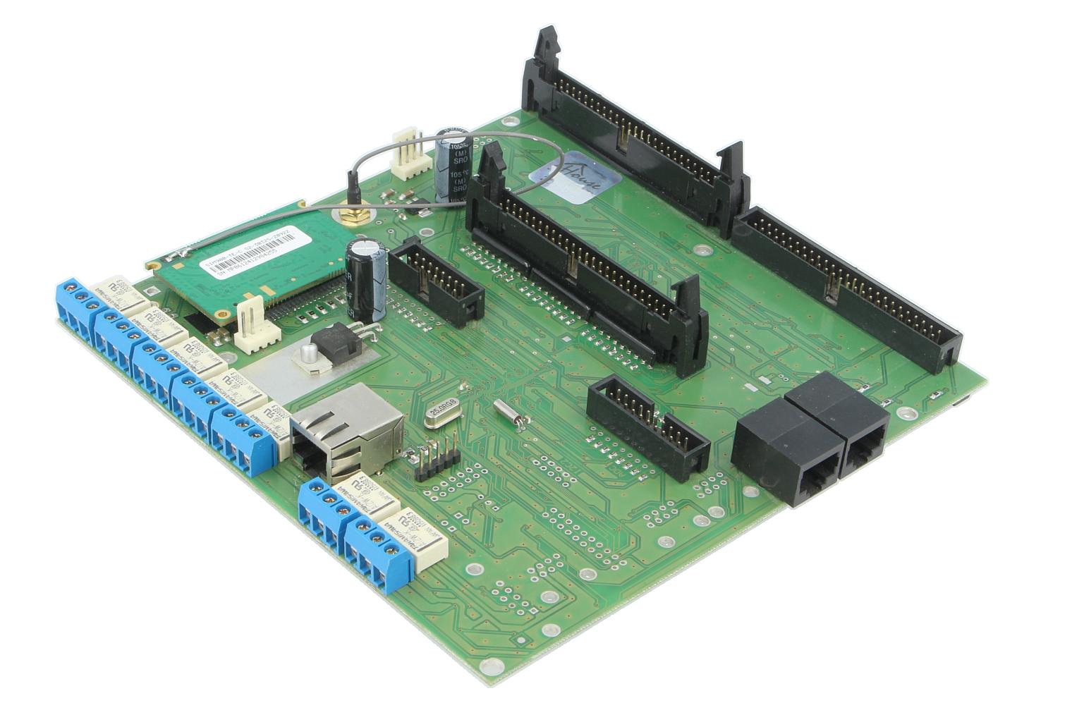 eHouse LAN (Ethernet) CommManager - система безопасности и контроллер привода