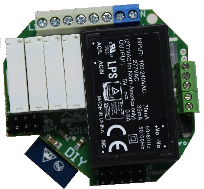 eHouse WiFi, WiFi IoT / IIoT, контроллер Wi-Fi Smart Lighting